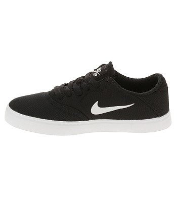muerto paridad tumor  shoes Nike SB Check Canvas GS - Black/White - unisex junior ...