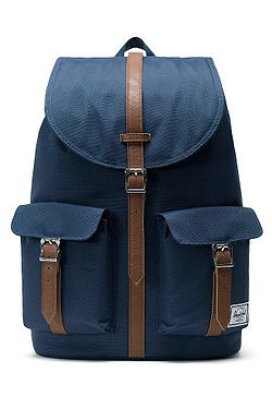34abc722e3 batoh Herschel Dawson - Navy Tan Synthetic Leather