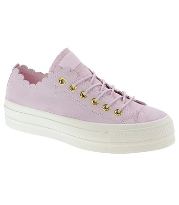 63cffeaa59 boty Converse Chuck Taylor All Star Lift Scallop OX - 563500 Pink  Foam Gold Egret