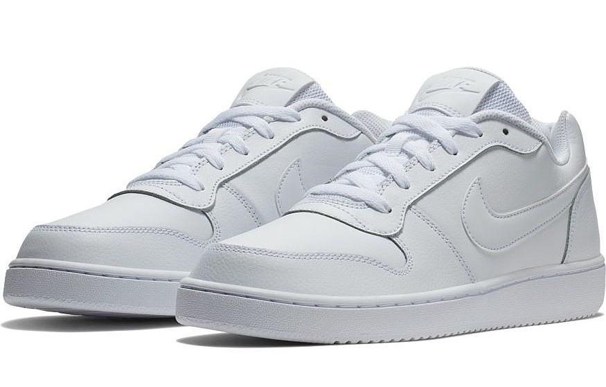 shoes Nike Ebernon Low - White/White