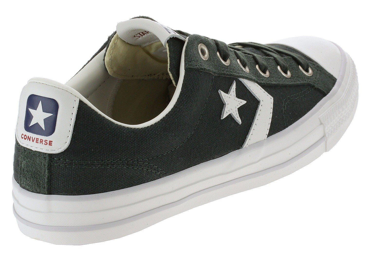 zapatos Converse Star Player OX 163961Outdoor GreenWhite