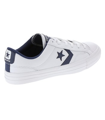 handla topp design beställa shoes Converse Star Player Leather OX - 159740/White/Navy/White ...