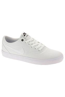 new product c3e17 81cab chaussures Nike SB Check Solar Canvas - White White Black - men´s ...