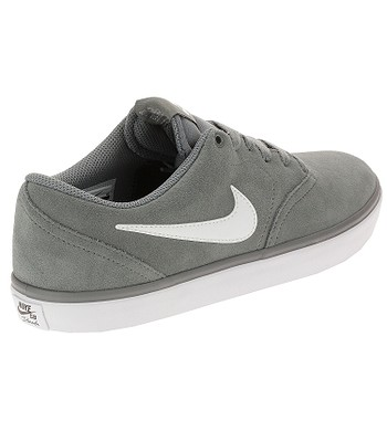 best service a2eda 67d12 boty Nike SB Check Solar - Cool Gray White - snowboard-online.cz