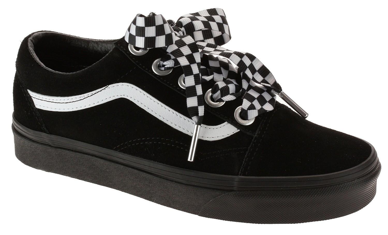 shoes Vans Old Skool - Check Lace/Black