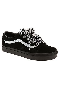 e5b464b59 boty Vans Old Skool - Check Lace Black Black ...