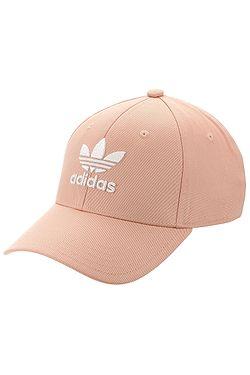 68d842f50 šiltovka adidas Originals Baseball Classic Trefoil - Dust Pink/White