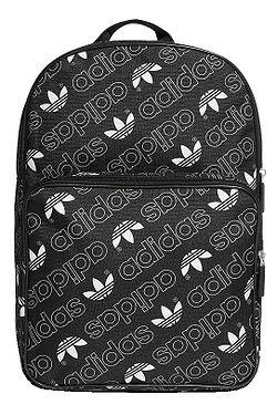 6084c0f840c23 plecak adidas Originals Classic Adicolor M GR - Black/White ...