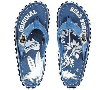žabky Gumbies Islander - Light Blue/Palm