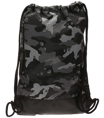 946dca6668819 Beutel Nike Brasilia Gymsack AOP 1 - 021 Dark Gray Black White. Auf Lager ‐  by tomorrow at your home