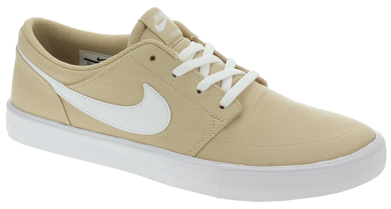 shoes Nike SB Portmore II Solar Canvas - Desert Ore/White/Desert ...