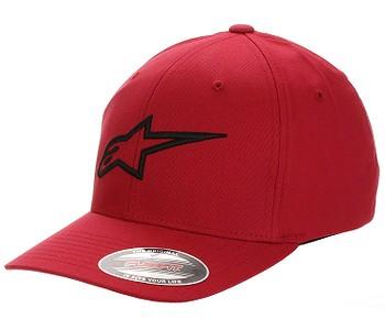 kšiltovka Alpinestars Ageless Curve - Red/Black