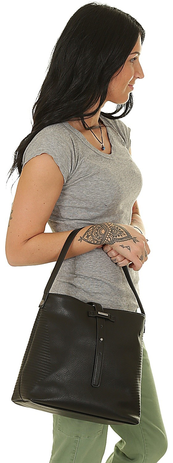 Volcom Line Purse Black Ladies Purses