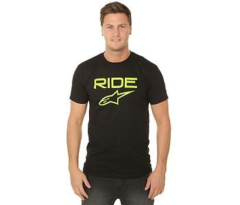 tričko Alpinestars Ride 2.0 - Black/Green