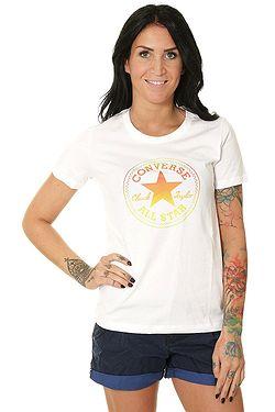 8e9d09239f tričko Converse Ombre Chuck Patch Crew 10017088 - A01 White ...