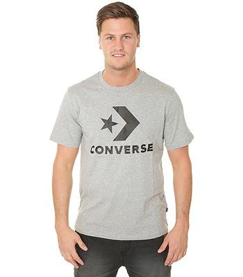 d15fdea5f5c9 tričko Converse Star Chevron 10007888 - A18 Vintage Heather Gray Multi
