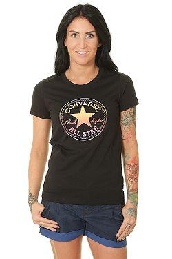 c98b002981 tričko Converse Ombre Chuck Patch Crew 10017088 - A02 Converse Black ...