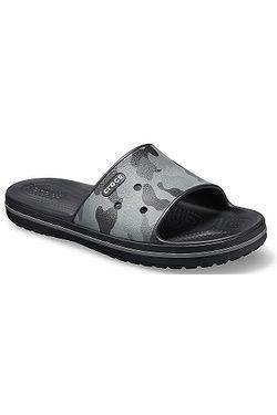 0a73aa223f topánky Crocs Crocband III Seasonal Graphic Slide - Slate Gray Black ...