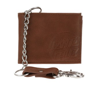 peněženka Santa Cruz Opus Dot Chain - Brown