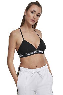 e8ab984d0b soutien-gorge Urban Classics Triangle Logo/TB2589 - Black - women´s ...