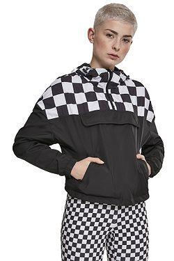 5d254a50c bunda Urban Classics Short Oversize/TB2657 - Black/Chess