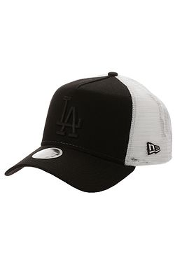 6331cc612 šiltovka New Era 9FO AF Essential Trucker MLB Los Angeles Dodgers -  Black/White ...