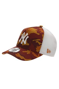 04eff0d16 šiltovka New Era 9FO Aframe Camo Trucker MLB New York Yankees - Burnt Camo