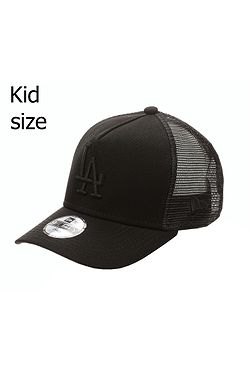 7bc3a892e detská šiltovka New Era 9FO Aframe Trucker MLB Los Angeles Dodgers Child -  Black/Black