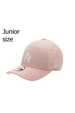 f6d27e33c detská šiltovka New Era 9FO League Essential MLB Los Angeles Dodgers Youth  - Pink/White