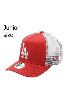 c90e5e9e4 detská šiltovka New Era 9FO Aframe Trucker MLB Los Angeles Dodgers Youth -  Scarlet/White