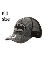 7849d86bb detská šiltovka New Era 9FO Aframe Camo Batman Trucker Toddler - Graphite