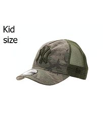 067b36259 detská šiltovka New Era 9FO AF Camo Trucker MLB New York Yankees Toddler -  Woodland Camo