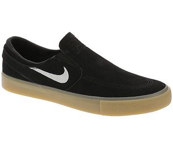 boty Nike SB Zoom Janoski Slip RM - Black/White/Black/Gum Light Brown