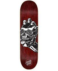 eb424a1e66df skateboard Santa Cruz Screaming Skull Hard Rock Maple - No Color