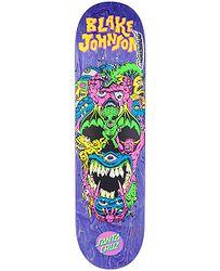 ba5ce44da4c6 skateboard Santa Cruz Johnson Rad Skull Powerply - No Color