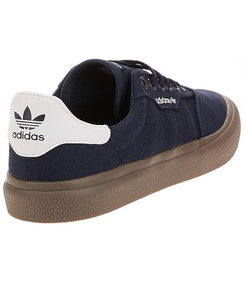 Como Londres masculino  shoes adidas Originals 3MC - Collegiate Navy/White/Gum - snowboard-online.eu