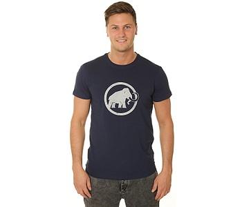 tričko Mammut Mammut Logo - Peacoat/PRT2