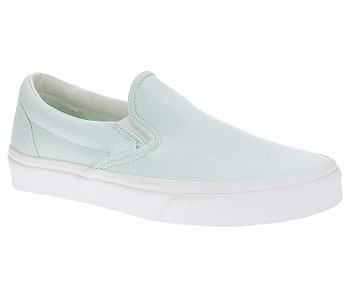 boty Vans Classic Slip-On - Brushed Twill/Soothing Sea/Snow White