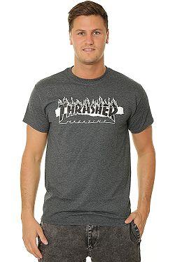 47141e3a6 T-Shirt Thrasher Ripped - Dark Heather - men´s ...