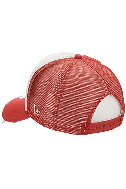 12584f539 ... šiltovka New Era 9FO Aframe Patch Trucker - Faded Red/White