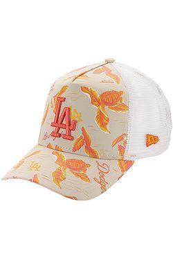 new styles b3140 9afb9 casquette New Era 9FO AF Desert Island Trucker MLB Los Angeles Dodgs - Soft  Coral X ...