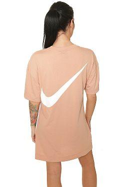 884f7bd02 ... dress Nike Sportswear Swoosh - 605/Rose Gold/White - women´s