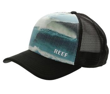 kšiltovka Reef Channel Trucker - Black