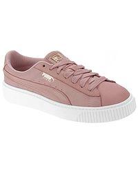 2191a65498d6c topánky Puma Platform Shimmer - Bridal Rose/Puma White