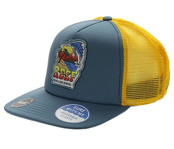 kšiltovka Reef Deep Sea Fish Trucker - Blue