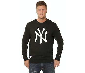 mikina New Era Team Logo Crew MLB New York Yankees - Black