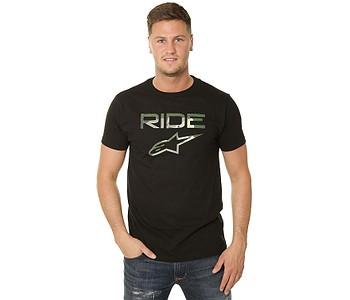 tričko Alpinestars Ride 2.0 Camo - Black
