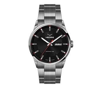 hodinky Meoris 4Golf Supertitanium SB - Steel/Black