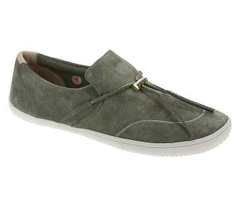 boty Vivobarefoot Ra Slip On L - Olive Green Leather