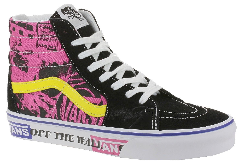 shoes Vans Sk8-Hi - Lady Vans/Azalea Pink/True White ...